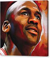 Michael Jordan Artwork 2 Canvas Print
