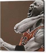 Michael Jordan - Chicago Bulls Canvas Print