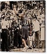 Michael Jordan Last Game II Canvas Print