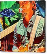 Michael Kang At Horning's Hideout Canvas Print