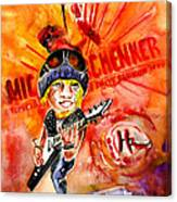 Michael Schenker In Dublin Canvas Print
