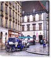 Michaelerplatz. Vienna Canvas Print