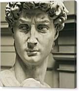 Michelangelo 1475-1564. David Canvas Print
