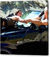 Michelle Rodriguez And Vin Diesel @ Fast To Furious Canvas Print