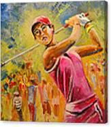 Michelle Wie Canvas Print