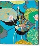 Michelles Secret Pond Canvas Print