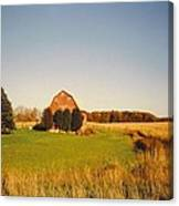 Michigan Barn And Landscape Canvas Print