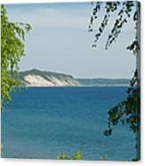Michigan Bluffs Canvas Print