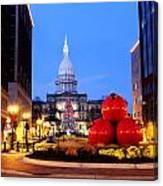 Michigan Capital Canvas Print