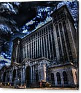 Michigan Central Station Hdr Canvas Print
