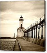 Michigan City Lighthouse Canvas Print