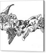Michigan U.p. Wildlife Canvas Print
