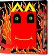 Mcdevil Happy Kill Canvas Print