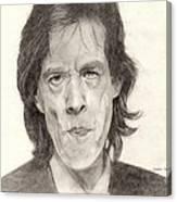 Mick Jagger 2 Canvas Print