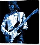 Mick Plays The Blues 1977 Canvas Print