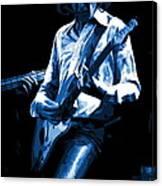 Mick Plays The Blues In Spokane 1977 Canvas Print