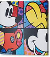 Mickey Canvas Print