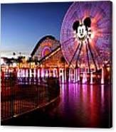 Mickey's Water Wheel Canvas Print