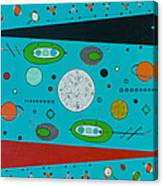 Micro Cosmic A Space Odyssey Canvas Print