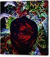 Micro Linear 34 Canvas Print