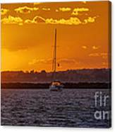 Mid Week Sunset Canvas Print