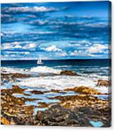 Midday Sail Canvas Print