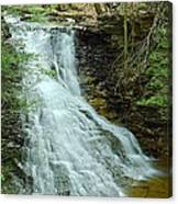 Middle Branch Falls Upper Tier #1 Canvas Print