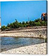 Middle Island Lighthouse Canvas Print