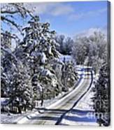 Middle Road Franklin Canvas Print
