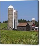 Middlebury Vermont Barn Canvas Print