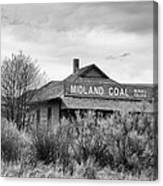 Midland Coal Mining Co. Canvas Print