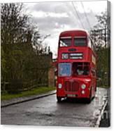 Midland Red Bus Canvas Print