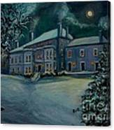 Midnight At The  Lyman Estate Canvas Print
