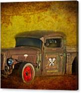 Midnight Auto Parts Canvas Print