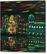 Midnight City Canvas Print