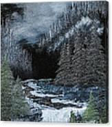 Midnight Falls Canvas Print