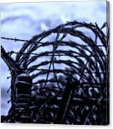 Midnight In The Prison Yard Canvas Print