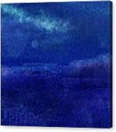Midnight Sea Passage Canvas Print