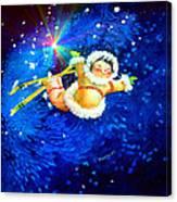 Midnight Sun Flyer Canvas Print