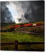 Midnight Train - 5d21043 Canvas Print