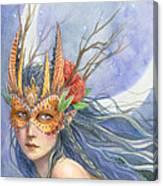 Midnight Warrior Canvas Print