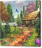 Midsummer's Joy Canvas Print