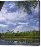 Midway Reservoir Canvas Print