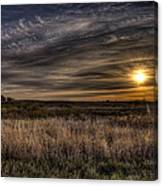 Midwest Sunrise Canvas Print