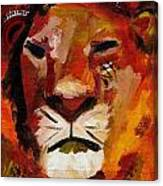 Mighty Lion Canvas Print