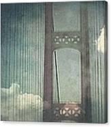Michigans Mackinac Bridge Canvas Print