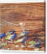 Migrated Birds Canvas Print