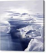 Migrating Swans Canvas Print