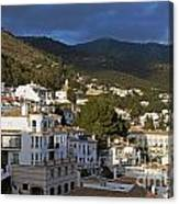 Mijas And Surrounding Hills Canvas Print