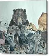 Mika Animals Canvas Print